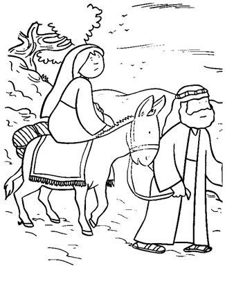 Jozef en Maria onderweg